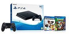Sony PlayStation 4 (500GB) + Overwatch + Crash Bandicoot N Sane Trilogy + 2nd Dualshock 4 Controller