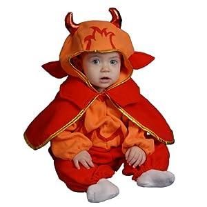 Dress Up America Disfraz de pequeño Diablo Lindo Infantilil