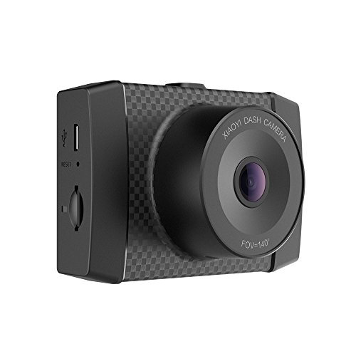 YI 2.7K Dash Cam with MEMS 3-Axis G-Sensor, Voice Control and LCD screen
