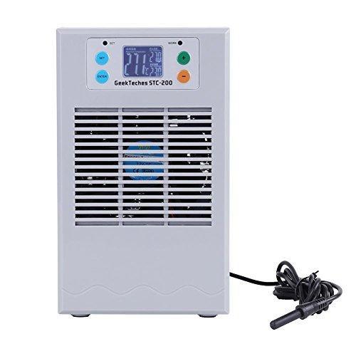 100-240V Digital Aquarium Thermostat Fish Tank Chiller Heater Water Cooling Heating Machine (20L 70W)
