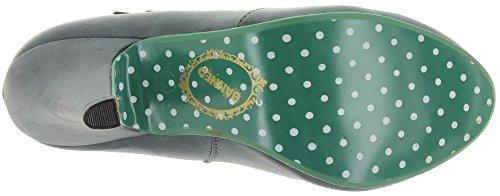 Banned - Scarpe con cinturino alla caviglia Donna Grigio (Grigio)