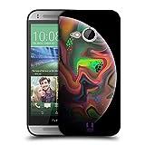 Head Case Designs Regenbogen Acryl Giessende Planeten Ruckseite Hülle für HTC One Mini 2