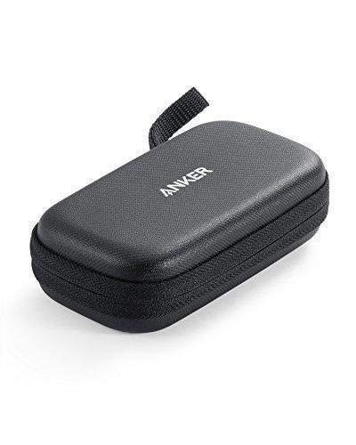Funda rígida Oficial Anker 10000 para Power Banks, Piel sintética, Funda de Viaje de protección Premium para Cargadores portátiles, Resistente al Agua Exterior y a Prueba de caídas para PowerCore