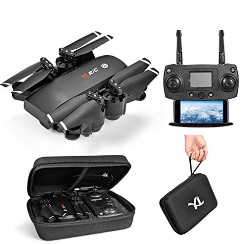 JIANG Drone Camera Adult 1080P HD-Kamera-Drohne mit Live-Video GPS Zurück zum Start WiFi FPV RC Quadcopter Anfänger Follow Me, Höhenretention, Lange Reichweite,720P2.4G