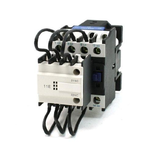 sourcingmap-c19-serie-3-fasi-1no-1nc-cj-19-32-switch-over-del-condensatore-contattore-380v-32a