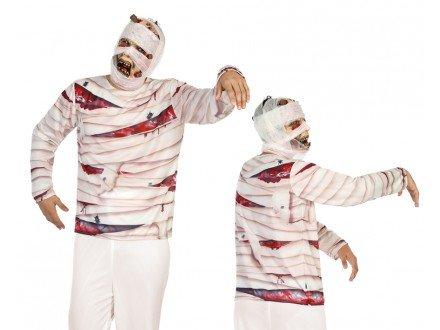 Atosa 9717 Mumien 3D T-Shirt, Größe (Cowgirl Und Indianer Halloween Kostüme)