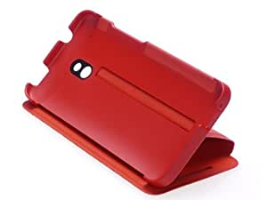 HTC One mini Flagship Double dip Flipcase HC V851 Red