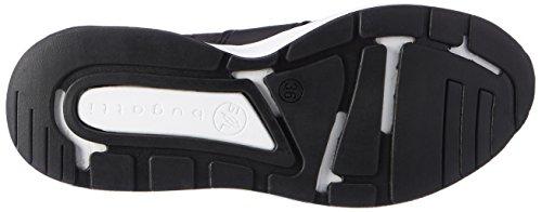 Bugatti Ladies 441270616000 Sneaker Nero (nero)
