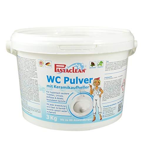 Pastaclean WC-Pulver mit Keramik -Aufheller 3kg