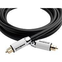 Visibee - 3 Meter Digital Optisches Optical Audio Toslink Pro Series Kabel (Audiokabel) mit Premium Metallgehäuse für PS3 / Sky HD / HDTVs / Blu-rays / AV-Verstärker