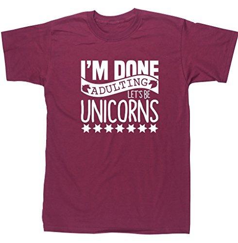 hippowarehouse-im-done-adulting-lets-be-unicorns-unisex-short-sleeve-t-shirt
