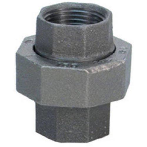 Anvil Fonte malléable Raccord de tuyau, classe 150, Union, NPT femelle, finition noire, 3/4\