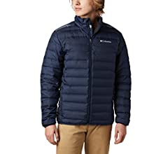 Columbia Men's Down Jacket, Lake 22, Collegiate Navy, X-Large