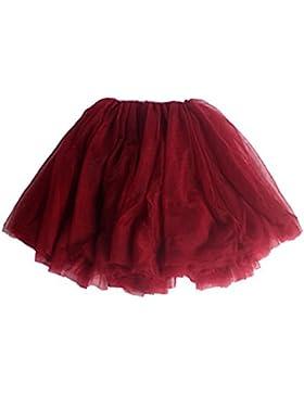 a9991fd3be  Patrocinado Andux Zone Falda de Tul Tutú Gasa Faldas Vestido Princesa Hada  Fiesta Ballet