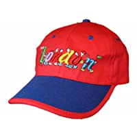 Socks Uwear Unisex Child Baseball Cap Embroidered London Logos Summer Sun Hat Red