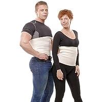 ®WoolMed - Cintura Schiena Medicale Per Uomo e Donna - Da Angora Merino lana - Made in Europe - 5 anni di garanzia (XLarge) - Mens Supporto Semi