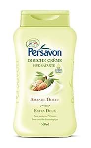 Persavon Crème Douche Hydratante Amande Douce 300 ml - Lot de 3
