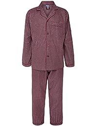 Alberto Rossini Hiver Hommes Winceyette Flanelle Pyjamas Coton Brossé Nighwear Tailles M jusqu'au XXl