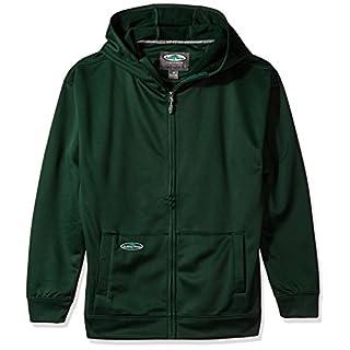 Arborwear Men's Tech Single Thick Full Zip, Forest Green, 4X-Large