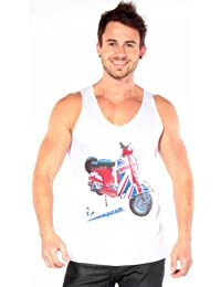 T&o British Scooter - Camisetas Sin Mangas - Hombres