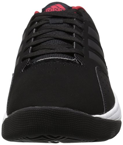 Adidas Performance Cloudfoam Ilation Basketballschuh, schwarz / weiÃ? / weiÃ?, 6,5 M Us Black/Black/Power Red