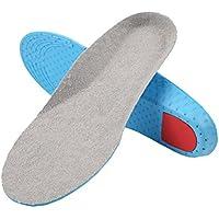 healifty Sport Sweat saugstark Schuh Einlagen für Kinder Fußgewölbe lindern Größe L (blau und grau) preisvergleich bei billige-tabletten.eu