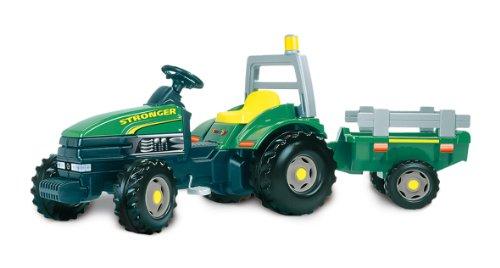 Smoby - 33406 - Vélos et Véhicules pour enfants  - Tracteur Très Grand Modèle Stronger
