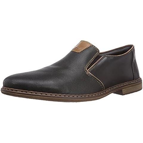 Rieker 13463 - Zapatillas de casa de cuero hombre