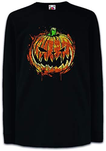Pumpkin Head Kinder Kids Mädchen Jungen Langarm T-Shirt