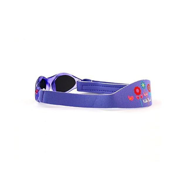 Baby Banz - Gafas de sol Ovaladas para niños, color Rosa (Lavender Tulip), talla 0-2 anos 4