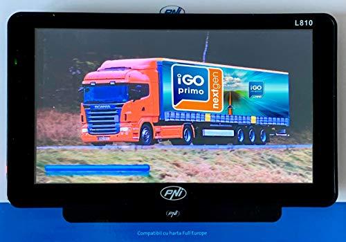 Sistema de navegación GPS PNI L810 de 7 Pulgadas con Software de navegación  Profesional Premium iGO Primo NextGen Map Q2 2019 Full Europa +