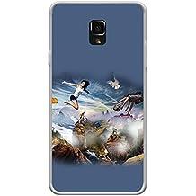 YuBingo Soft Silicone Designer Printed Mobile Back Case Cover for Swipe Elite 2+ (Plus) | Surfing Across The Waves | UV Printed | Waterproof | Shockproof | Slim | Light