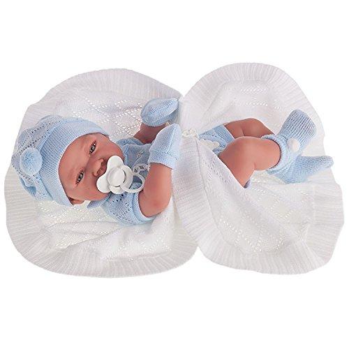 Antonio Juan Spielpuppe Babypuppe Puppe 42 cm Geschlecht: Junge