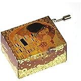 """Art Music Box - Gustav Klimt """"The Kiss / Der Kuss""""& Debussy """"Arabesque"""""""