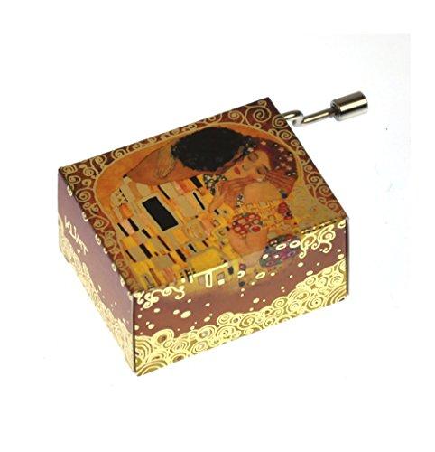 """art&music, Klimt, Der Kuss, Melodie: """"Arabesque"""""""