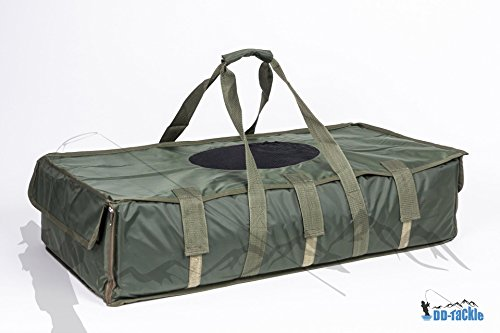 DD-Tackle Deluxe Abhakmatte Carp Cradle 95 x 55 x 25 Soft PVC Mat incl. Abdeckung + Tasche