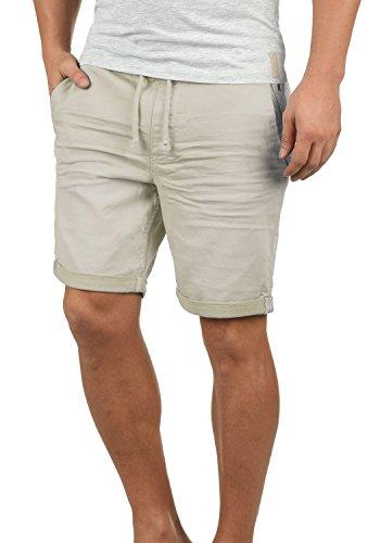 Blend Dongo Herren Jeans-Shorts Kurze Hose Denim aus Hochwertiger Baumwollmischung, Größe:L, Farbe:Bone White (70016)