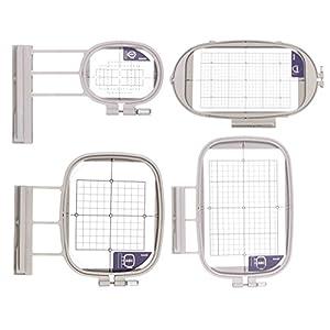 Stickrahmen 4er-Set für Brother Innovis 800e,1500,2600,V3,V5,V7,XV,1,1e