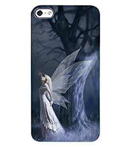ColourCraft Angel Design Back Case Cover for APPLE IPHONE 4