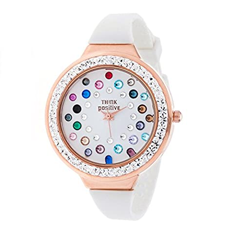 Horloge femme THINK POSITIVE® Modèle SE W116R Star Dust Tunnel