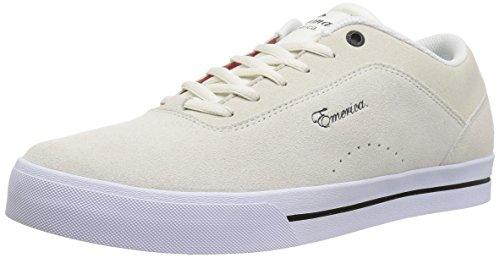 Emerica Pantaloni da uomo g-code re-up skate shoe White/white
