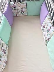 LIARTAS Bettnestchen Babynestchen Bettumrand für Babybett 120x60 140x70