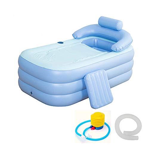 KFRSQ Sommer-Whirlpool für Erwachsene aufblasbare Badewanne aufblasbare Wanne faltba