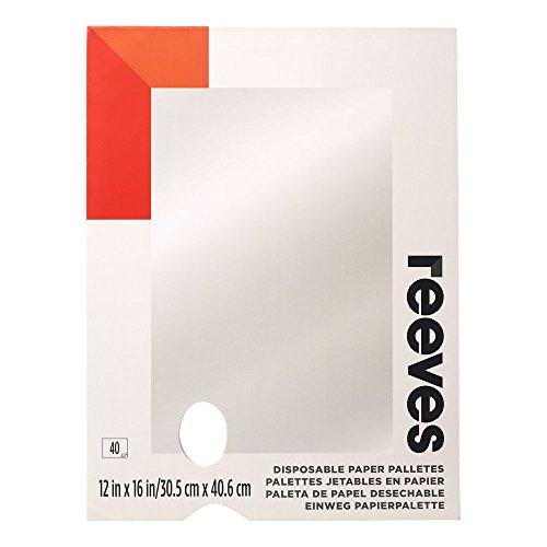 Reeves Paletas de Pintura, 30.5 x 40.6 cm