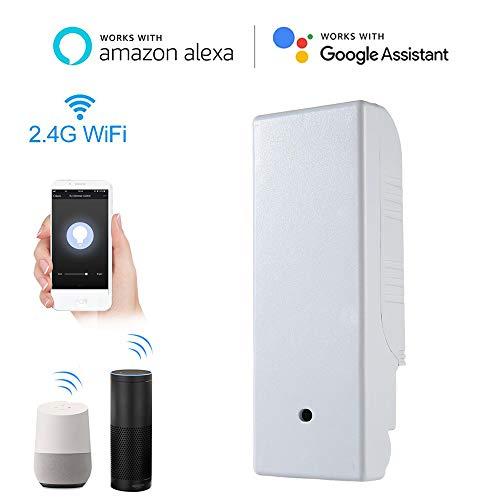 leegoal Alexa dimmbar Lichtschalter, 2.4Ghz Wireless Smart SwitchWorks mit Alexa/Google Home-/Timer Feature für iOS Android System (Installieren Lichtschalter Dimmer)