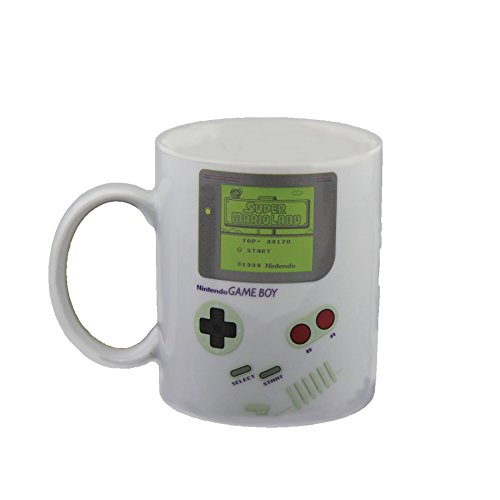 Nintendo Game Boy Heat Change Mug, Multi-Colour