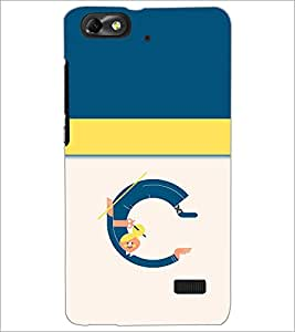 PrintDhaba GRANDbet C D-4704 Back Case Cover for HUAWEI HONOR 4C (Multi-Coloured)