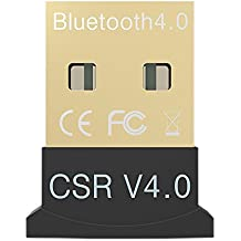 Tikitaka - Adaptador V4.0 Mini Palillo de Bluetooth 4.0 USB, Modo Dual, Inalámbrico, Bluetooth RSE 4.0, USB 2.0/3.0, para Windows 10/8/7/Vista/XP de 32/64 bits