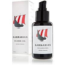 Mr. Burtons Barbarian Bartöl | Made in Germany | Neuer Pumpverschluss | Bartöl 50ml für die perfekte Bartpflege | vegan und natürlich mit Arganöl