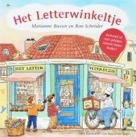 Het letterwinkeltje par  Marianne Busser, Ron Schröder
